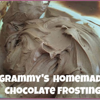Grammy's Homemade Chocolate Frosting.