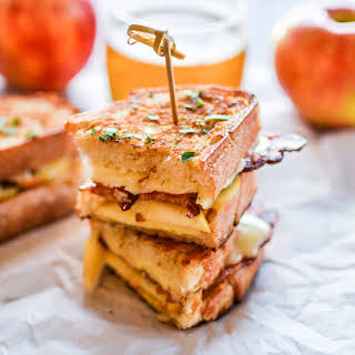 Bacon and Apple Grilled Cheese Sandwiches.