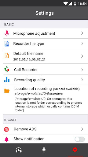 Voice Recorder 34 screenshots 5