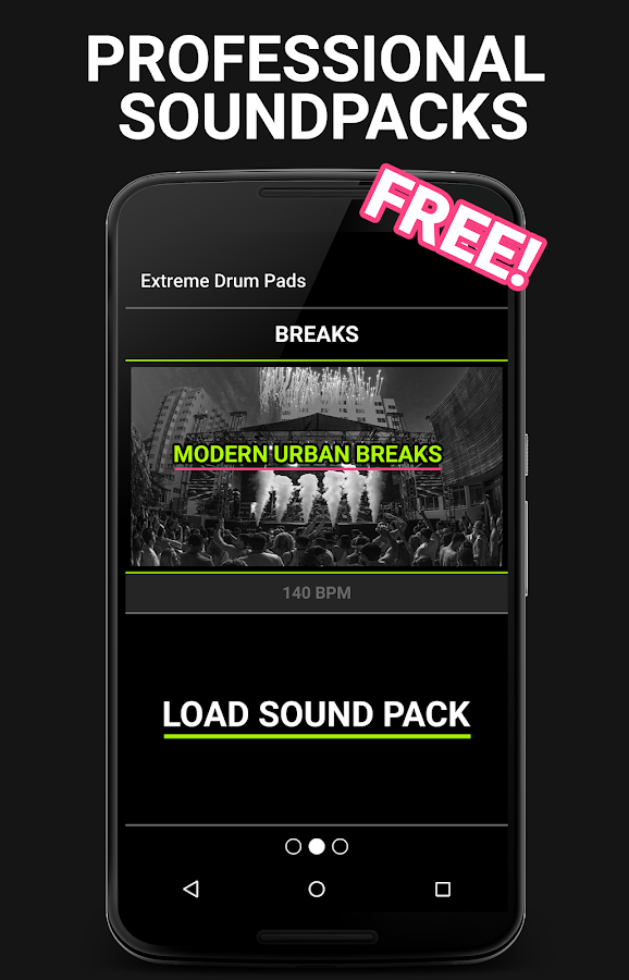 Extreme Drum Pads- screenshot