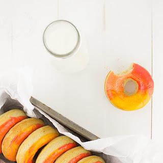 Peach Doughnuts