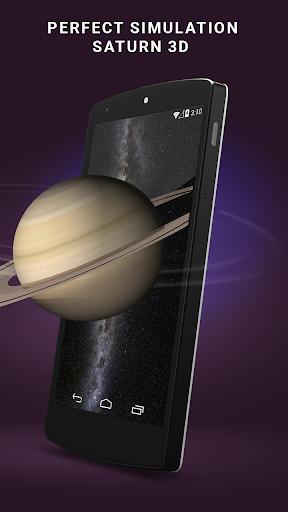3D Realistic Saturn LWP HD