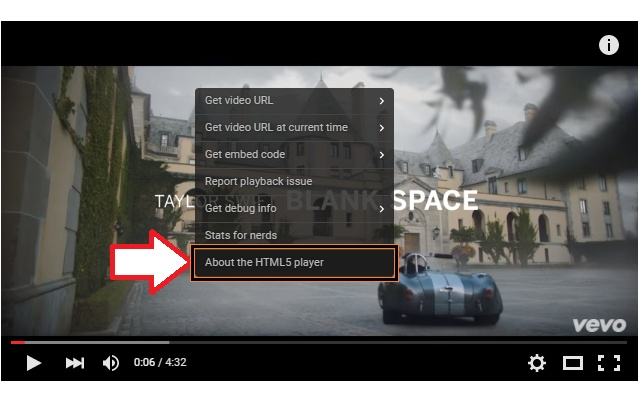 Switch to HTML5 Player for YouTube™