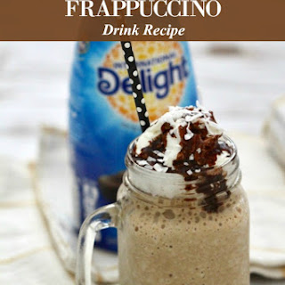Almond Joy Frappuccino Drink.