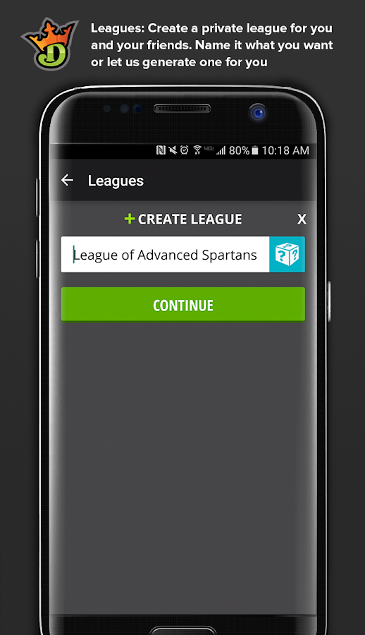 DraftKings - Daily Fantasy Sports- screenshot