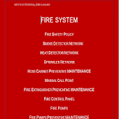 Fire System Manual
