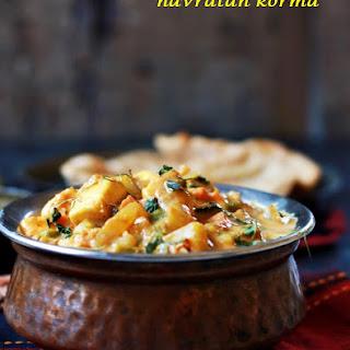 Navratan Korma Recipe, How To Make Navratan Korma