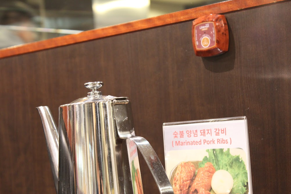 Service bells for immediate service at Seoul House in Thornhill(서울관 시틸스 토론토)