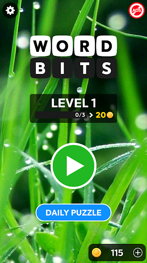 Word Bits: A Word Puzzle Game  screenshots 3