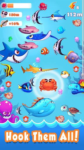 Code Triche Fantastic Fishing APK MOD (Astuce) screenshots 1