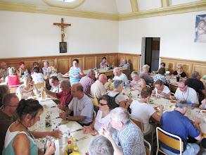 Photo: 13.10.09Gozo,Victoria : repas partagé