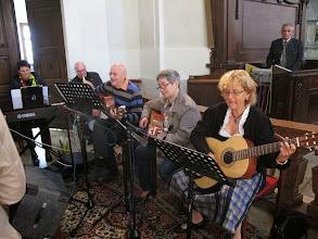 Photo: Endlich das ganze Orchester und Franz Christian, der personifizierte perfekte Sound.