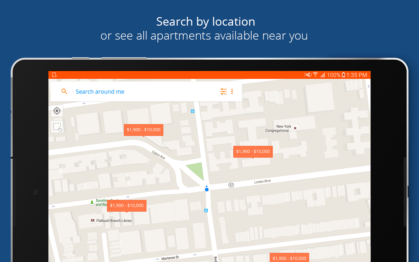 apartment searchrentcafé - android apps on google play