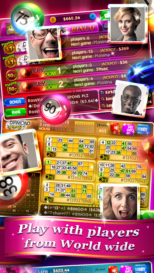Bingo 90 Live HD +FREE slots- screenshot