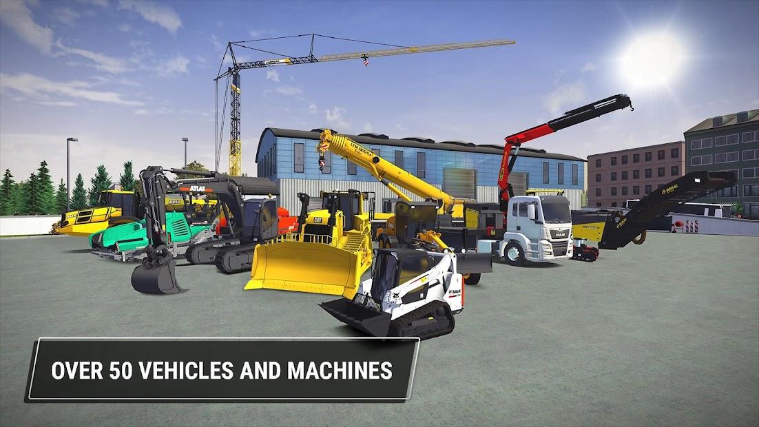 Construction Simulator 3 Android App Screenshot