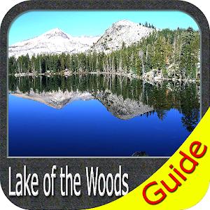 Lake of the Woods gps fishing