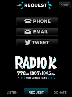Radio K - KUOM- screenshot thumbnail