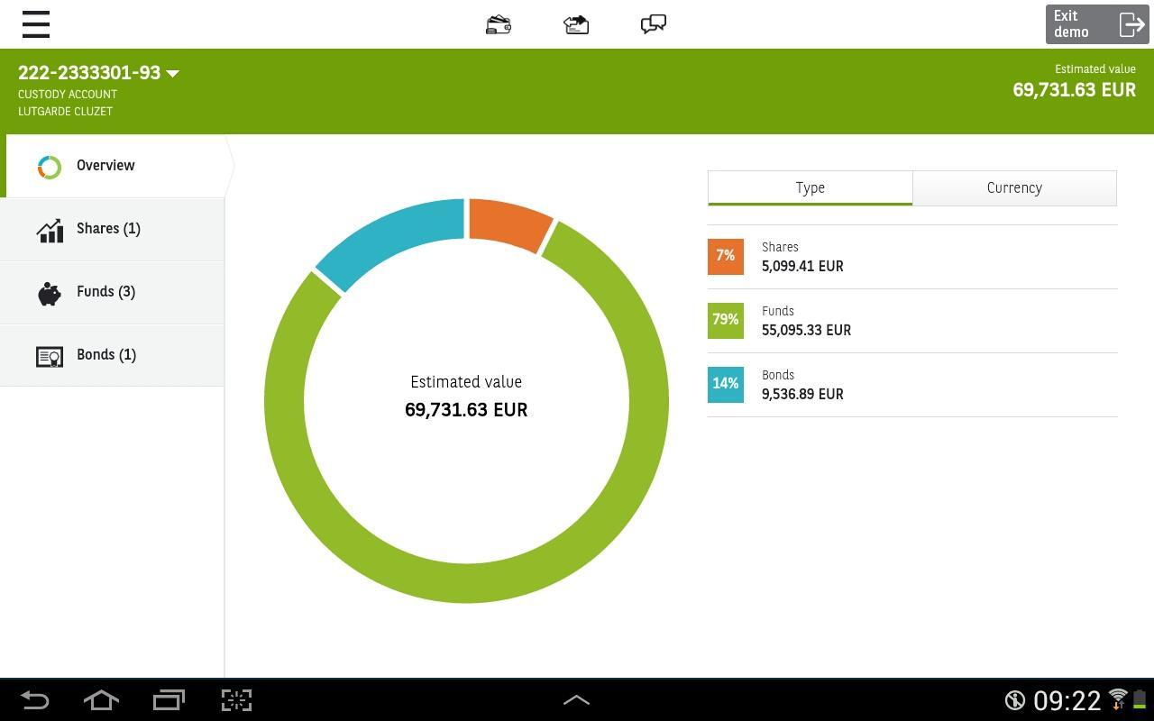 Easy banking- screenshot