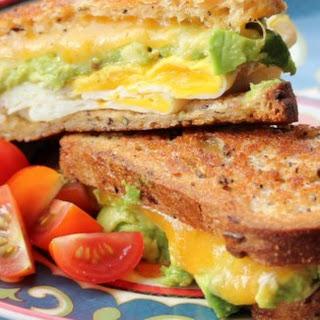 Avocado Breakfast Sandwich.