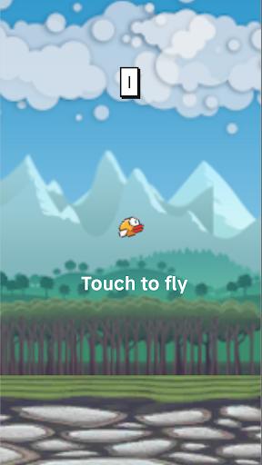 Flying Bird - Flapper Birdie Game 1.2.3 screenshots 3