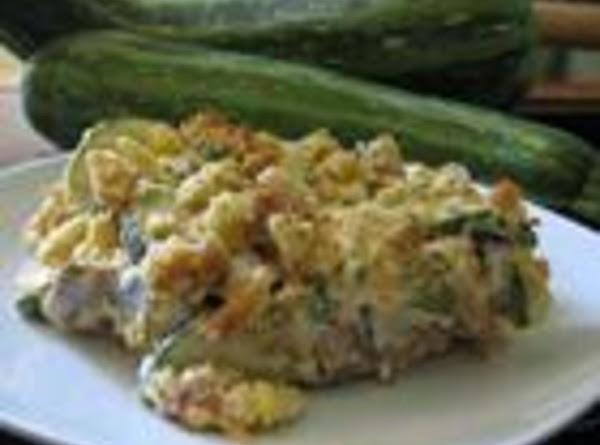 Becky's  Squash Zucchini Casserole Recipe