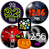 Halloween Watch Face Theme Set