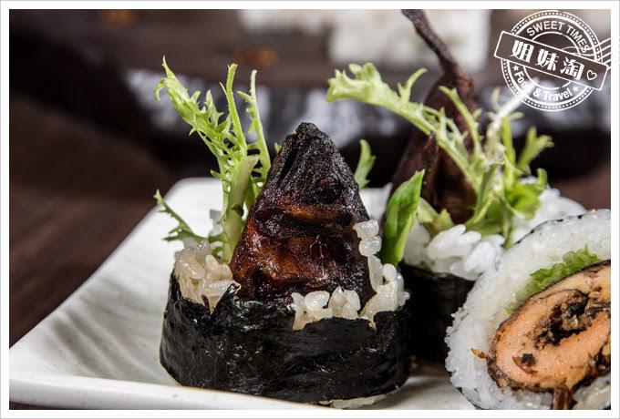墨吉日本料理香魚蜜捲壽司