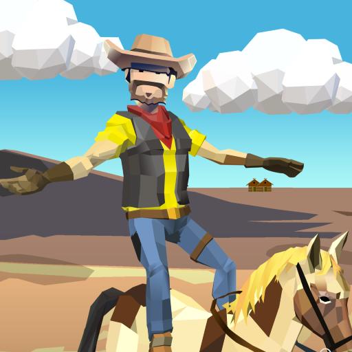 Emocionante jogo de cowboy!