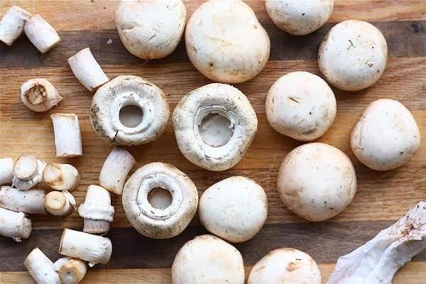 Asian Stuffed Mushrooms (sallye)