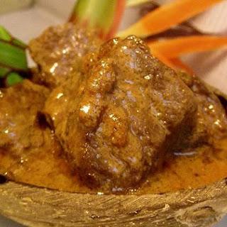Coconut Sauce Beef Stew