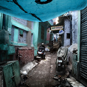 Ajmer´s Street (India) by Jesús Sánchez Ibáñez - City,  Street & Park  Street Scenes