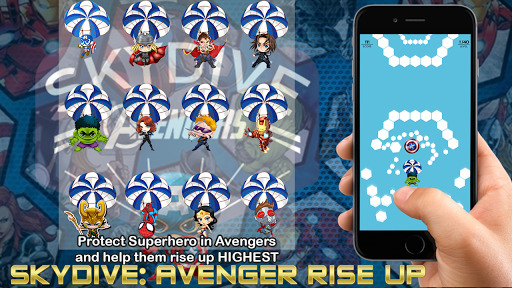 Skydive: Avengers Rise Up 1.0.3 screenshots 2