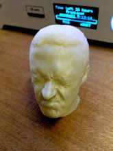 Photo: 3d printed head