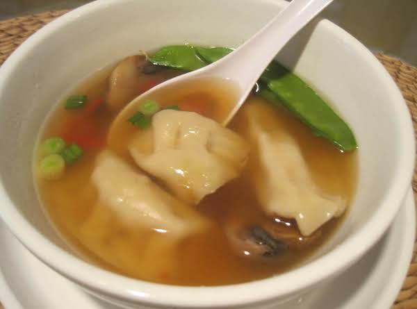 Asian Potsticker Soup Recipe