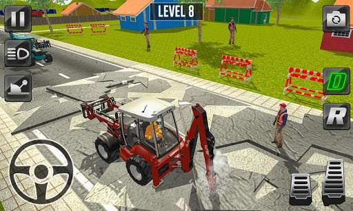 city construction - heavy excavators simulator 3d screenshot 2