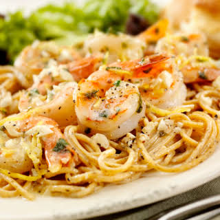 Chef Mike Isabella's Shrimp Scampi.