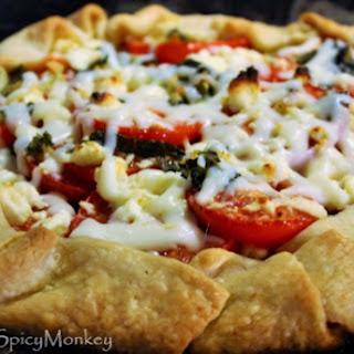 Tomato and Cheese Crostata