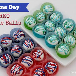 Game Day OREO Cookie Balls 2.