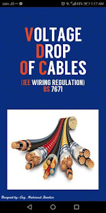 App Voltage Drop of Cables (IEE Regulation - BS 7671) APK for Windows Phone