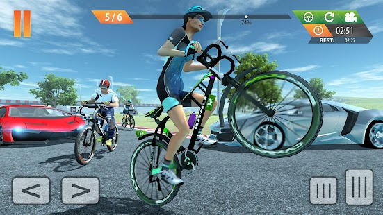 ApkMod1.Com Fearless BMX Rider Extreme Racing 2019 + MOD (Free Shopping/Unlocked) for Android Casual Game