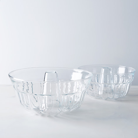 Borosilicate Glass Bundt Pan