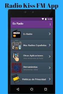 Radio Kiss FM App - náhled