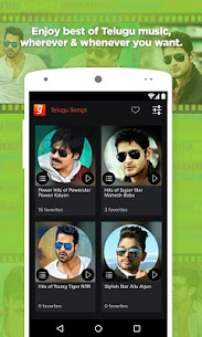 Telugu Songs by Gaana App Download For Android 1