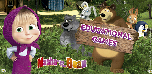 Masha and the Bear. Educational Games app (apk) free download for Android/PC/Windows screenshot