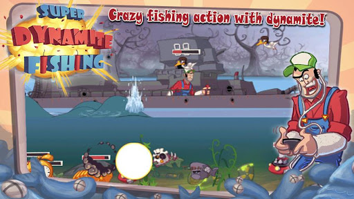 Super Dynamite Fishing FREE screenshot 1