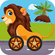 Animals Racing for Kids