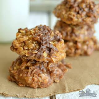 No Bake Caramel Cookies.
