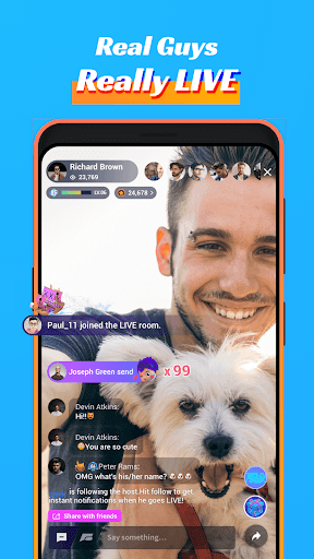 Blued - LIVE Gay Dating, Chat & Video Call to Guys 3.3.0 screenshots 2