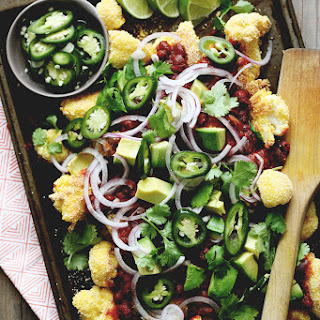 Crispy Cauliflower Nachos