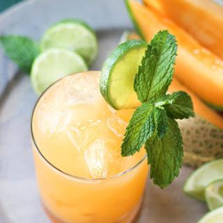Cantaloupe Margaritas.